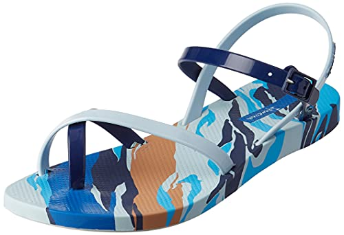 Ipanema Fashion Sand IX Fem, Sandalia Mujer, Azul, 35.5 EU