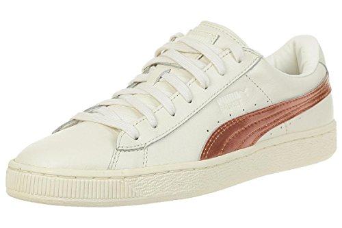 PUMA Basket Classic Metallic SN Sneaker Damen Mädchen Schuhe 363201 02, Schuhgröße:37.5 EU