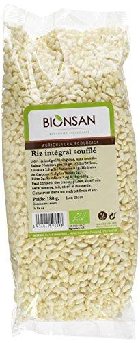 Bionsan - Riz complet soufflé biologique, 180 g