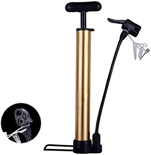 Aoyo Hochdruck-Luftpumpe, Fusspumpen Standpumpen Luftpumpe tragbaren Werkzeug zum Aufpumpen von, versah Zwei Ventil 120 psi for Mountainbike-Fahrrad Elektro-Auto