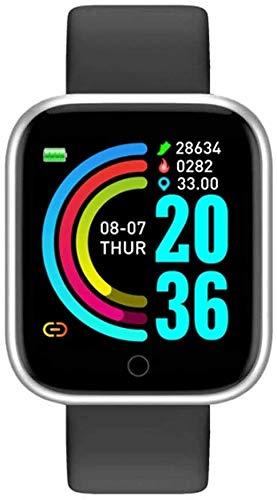BNBN HXM-00 Pulsera Inteligente, Pulsera, Ejercicio y recordatorio de información de Ejercicio, podómetro de Android, Reloj Inteligente con Pantalla Grande, Impermeable y Delgado (Color : B)