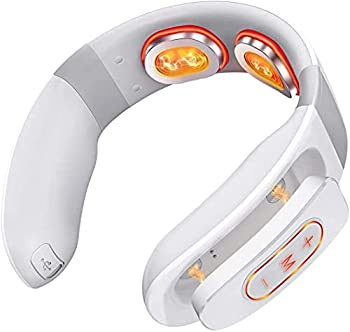 WizPower Cordless Intelligent Neck Massager for Pain Relief