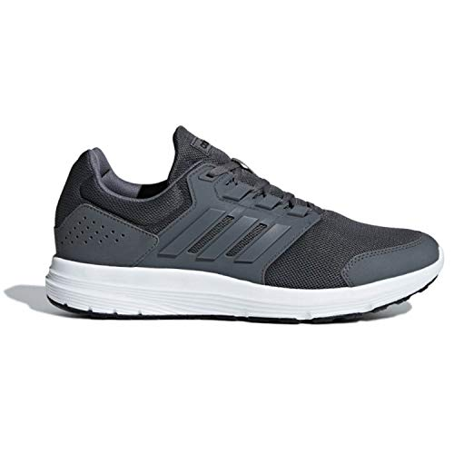 adidas Galaxy 4 Grey/Grey Running Shoes 10.5