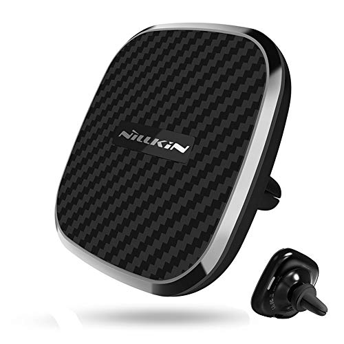 Wireless Car Charger Mount,10W Qi Fast Charging Car Charger Magnetic Air Vent Phone Holder Compatible for iPhone 11/11 Pro/Xs Max/XR/X/8 Plus, Samsung Galaxy S10/S10+/Note10/9/S9/S9+/S8/S8+ and More