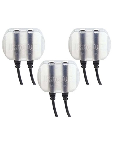 Rode INVISILAV3 - Cortavientos para micrófonos de solapa (3 unidades)
