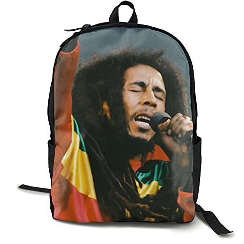 Bob-Marley - Mochila antirrobo para ordenador portátil de gran capacidad, resistente al agua, para viajes