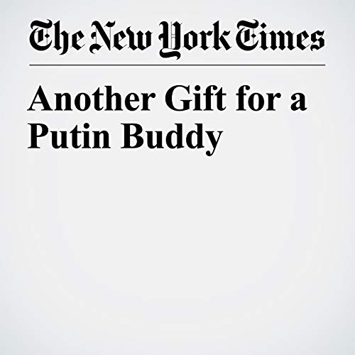 Another Gift for a Putin Buddy copertina