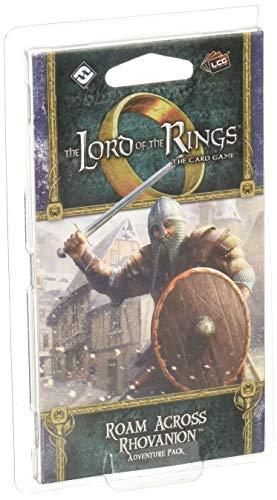 Fantasy Flight Games - Lord of The Rings LCG: Paquete de Aventura: Roam Across Rhovanion - Juego de Cartas