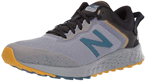 New Balance Men's Fresh Foam Arishi Trail V1 Running Shoe, Steel/Stone Blue, 10 M US