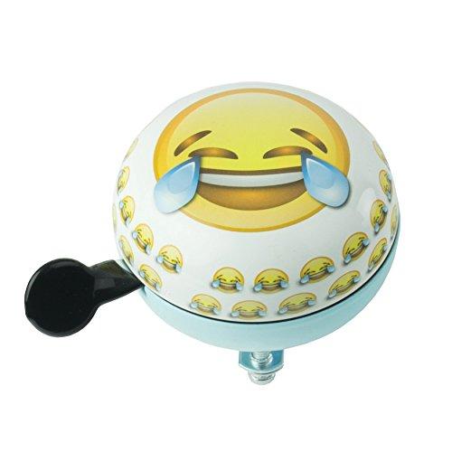 Widek HWDDLF Emoji Klok voor kinderen, wit, M