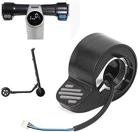 Thuron Frenos eléctricos para scooter prácticos, frenos para manillar, accesorios para scooter, frenos electrónicos de dedo, alternativos para scooters eléctricos plegables Ninebot ES1/ES2/ES3/ES4