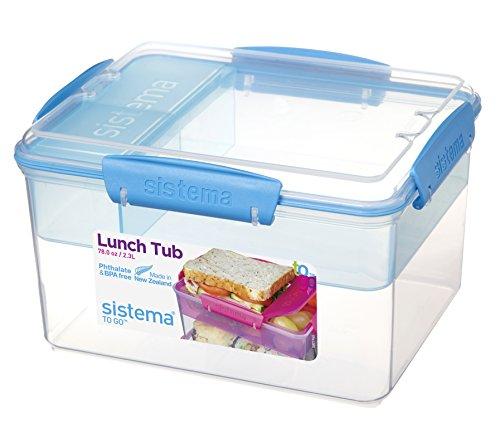 Sistema To Go Lunchbox, 2,3l, sortierte Farben