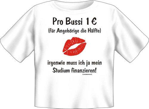 Rahmenlos PRO Bussi 1& # x20AC;–Baby Fun T-Shirt a Maniche Corte, Taglie S, M, 56/62 cm