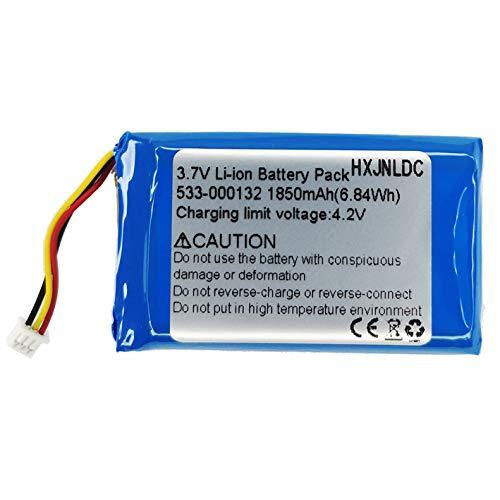 HXJNLDC 3.7v 1850mah Li Ion Battery for Logitech g933 g533 Wireless Artemis Spectrum Game Headset Battery Replacement, Compatible 533-000132