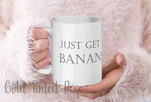 Betsy34Sophia Mama beker papa beker alleen een banaan thee beker koffie beker grappige mok mama geschenk papa gift nope niet vandaag verlaten je me