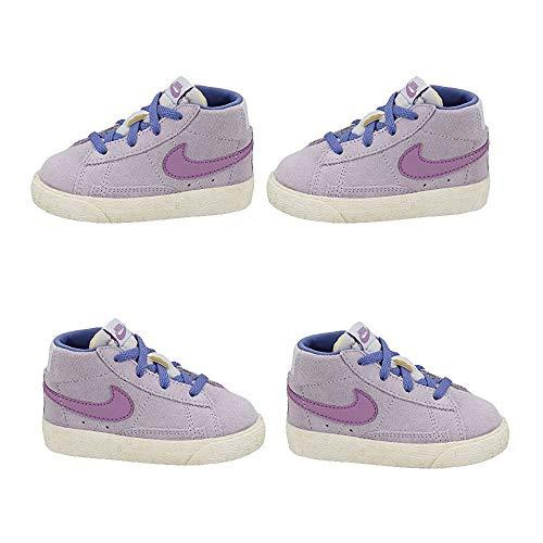 Zapatillas para niña Nike Blazer Mid Vintage en Ante Lila 549551-501