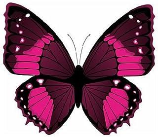 FahnenMax Autoaufkleber Sticker Schmetterling Purpur Aufkleber