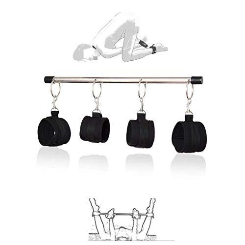 Barra de metal ajustable de acero inoxidable para gimnasia