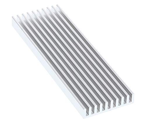 Preisvergleich Produktbild InLine 33955K SSD-Kühler,  Kühlrippen / Kühlkörper für M.2 SSD passend
