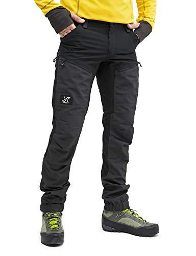 RevolutionRace GPX Pro Pants Herren Wasserabweisende, Atmungsaktive und Strapazierfähige Outdoorhose zum Wandern, Trekking, Camping, Klettern und Jagen, Jet Black, XL