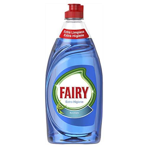 Fairy Extra hygiëne vloeibaar voor vaatwasser Eucalyptus, 8 verpakkingen à 500 ml, in totaal 4000 ml