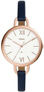 FOSSIL Women's ES4355 Year-Round Analog-Digital Quartz Blue Band Watch