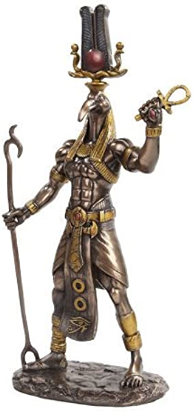 PTC 11 Inch Egyptian Thoth Mythological God Resin Statue Figurine