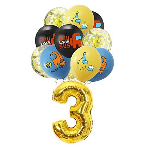 Jjwlkeji Vajilla De Fiesta Rosa Entre los Suministros de la Fiesta de cumpleaños para niños Placas de Papel Tazas Caketoppers Portátil Pegatina de Agua Pegatina Juegos de niños (Color : 11pcs Set 3)