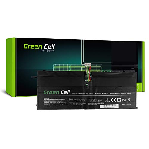 Green Cell 45N1070 45N1071 Laptop Battery for Lenovo ThinkPad X1 Carbon 1 Gen 3443 3444 3446 3448 3460 3462 3463 (Li-Polymer Cells 2600mAh 14.8V Black)