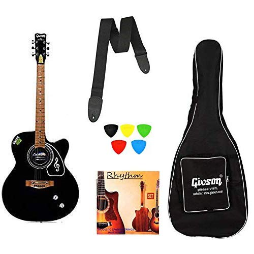Ketostics Givson Venus Super Special Semi-electric Guitar Combo with Bag, Rhythm...