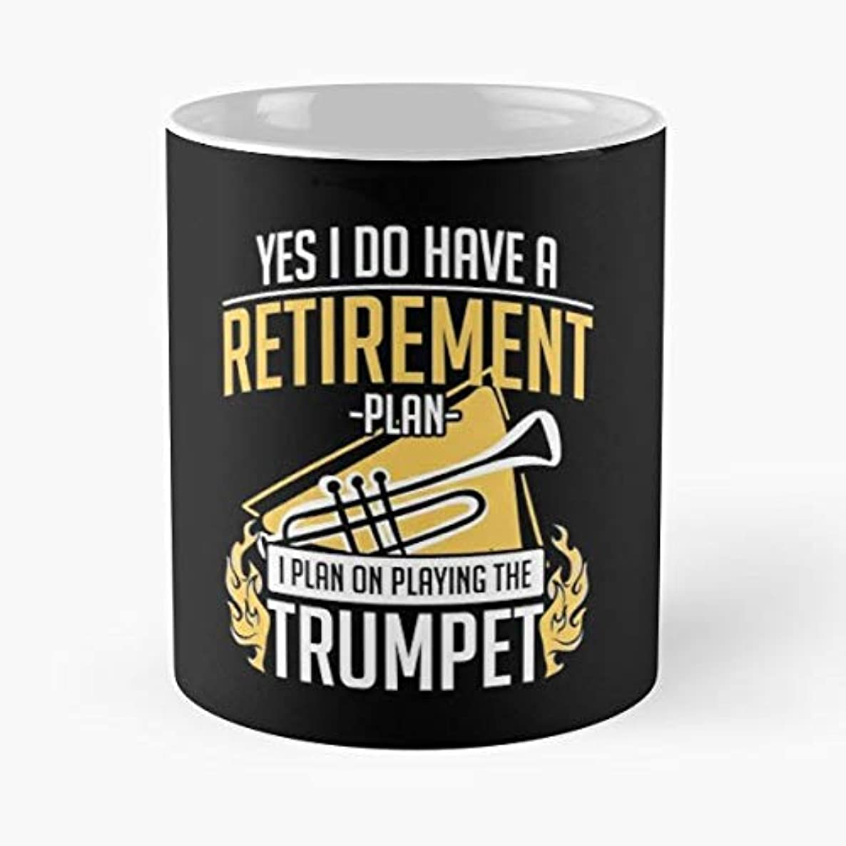 Trumpet Trumpeter Player Music - Coffee Mug And Tea Cup Gift 11 Oz Best Mugs For Choose.