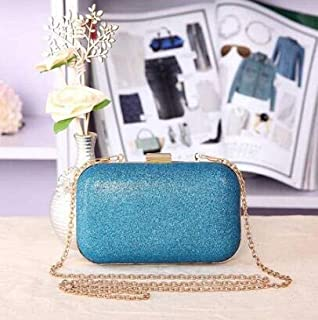 TMXOWB Hot Sale Sequined Women Evening Bags Bling Purse and Handbag Candy Color Classic Design Day Clutches Mini Shoulder Bag
