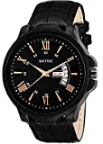 MATRIX Smartwatch Men's Watch (Black Dial Black Colored Strap)