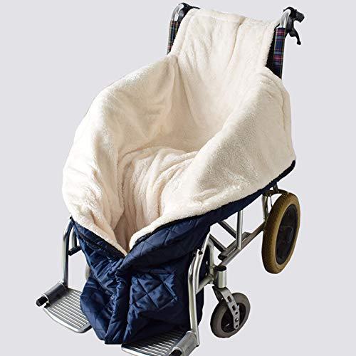Rollstuhlsack Winter Fusssack Schlupfsack für Rollstuhlfahrer Rollstuhldecke Rollstuhl Beinabdeckung Elektromobile,Windfeste warme Decke Verpackung,Innenfutter Webpelz Polyester für Wheelchair