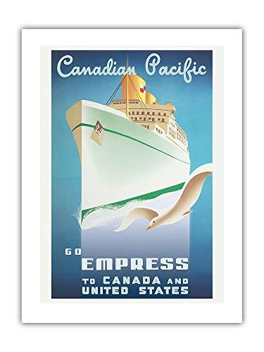 Vaya con Empress - Canadá y Estados Unidos - Canadian Pacific -...