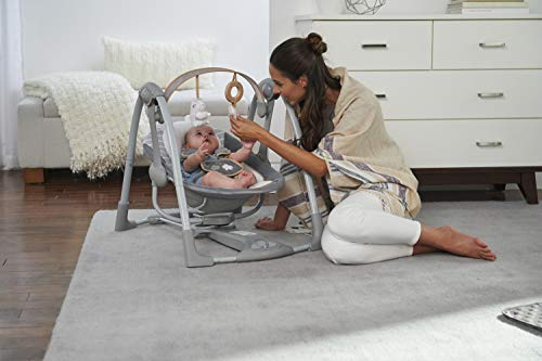 41DPtf889hL 10 of the Best Baby Swing for Big Heavy Babies 2021 Review