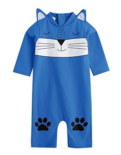 Vaenait Baby 56–80 Maillot de Bain Infant bébé garçon Rashguard Swimwear Water Cats bébé Small Nur Bademode