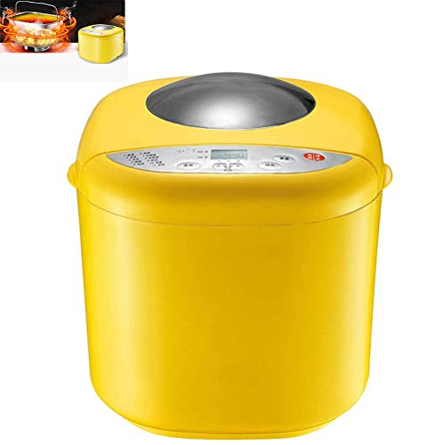 Best Buy! Qianyuyu Bread Maker Machine with 10 Programmes Cooking Programmable XL Bread Maker with F...