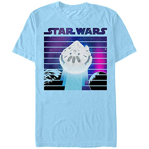 Solo: A Star Wars Story Men's Smuggler's Paradise Light Blue T-Shirt
