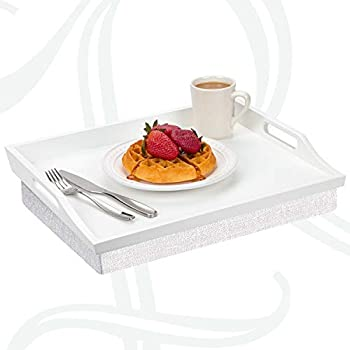Rossie Home Lap Tray with Detachable Pillow, Serving Tray