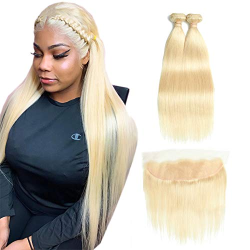 10 best frontal lace closure with bundles blonde for 2020