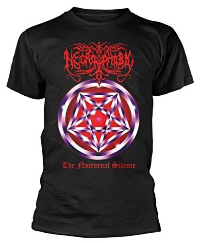 Necrophobic 'The Nocturnal Silence' (Black) T-Shirt (medium)