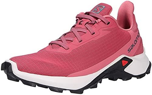 Salomon Alphacross 3 Mujer Zapatos de trail running, Rojo (Earth Red/Lunar Rock/Mauve Wood), 38 EU