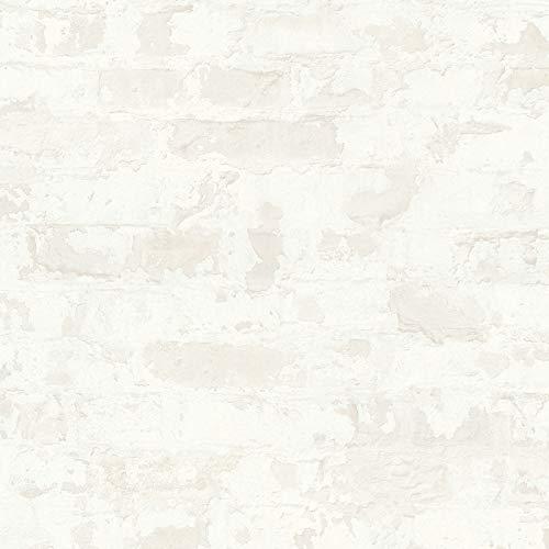 Vliestapete Steintapete Tapete Steinoptik Naturstein-Tapete 369294 36929-4 Livingwalls Metropolitan Stories | Grau Weiß | Rolle (10,05 x 0,53 m) = 5,33 m²