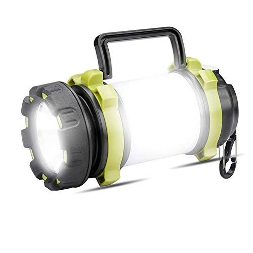 Changskj Suchscheinwerfer Outdoor-Camping-Lampe LED-Licht USB aufladbare Taschenlampe dimmablespotlight Arbeits-Licht Wasserdichtes (Emitting Color : Package B)