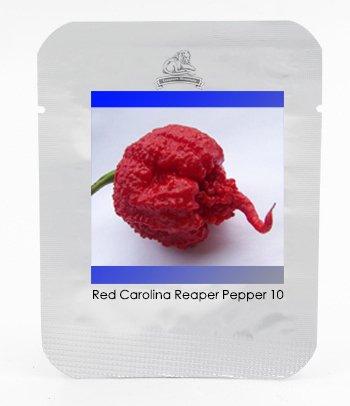 100% vrai Très rare Seeds Carolina Red Reaper Pepper, Paquet professionnel, 10 graines / Pack, premium Graines fraîches, pas faux variété