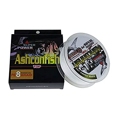 Ashconfish Braided Fishing Line-8 Strands Super Strong Fishing Wire 500M/546Yards-Abrasion Resistant Braided Lines-Incredible Superline-Zero Stretch-Superfine Diameter by Shenzhenshi Pilot Fishing Tackle Co. Ltd