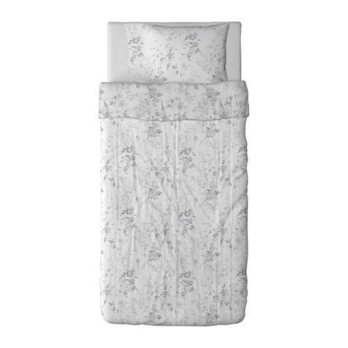 ALVINE KVIST 掛け布団カバー&枕カバー 201.728.25 IKEA イケア