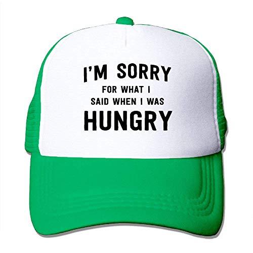 Preisvergleich Produktbild AOHOT Herren Damen Baseball Caps, Hüte,  Mützen,  Classic Baseball Cap,  I'm Sorry What I Said When I was Hungry Women Men Hip Hop Hats-Classic Dad