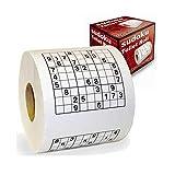 Monsterzeug Sudoku Klopapier, Sudoku-Toilettenpapier, Toilettenpapier mit lustigen Motiven, Lustiges...